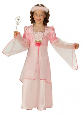 Rosenprinzessin - Kleid - Kinder Kostüm - 1 Teil - Rubie's