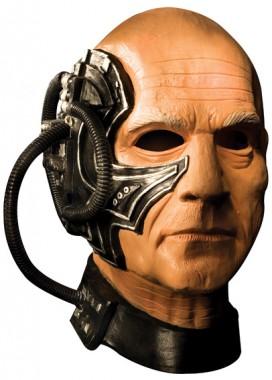 Star Trek - Locutus - Deluxe Latex-Maske - Maske - 1 Teil - Rubie's