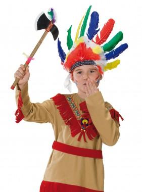 Indianer - Kopfschmuck - bunt - Zubehör - 1 Teil - Rubie's