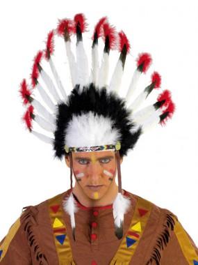 Indianer Kopfschmuck - Zubehör - 1 Teil - Rubie's