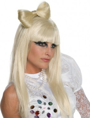 Lady Gaga - Schleifen Haarclip - Zubehör - 1 Teil - Rubie's