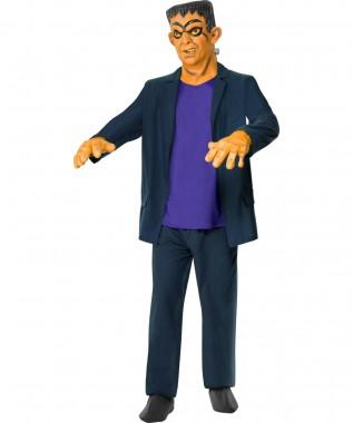 Frankenstein-Kostüm - Jacke+Weste+Zubehör - blau - Kostüm - 6 Teile - Smiffy's