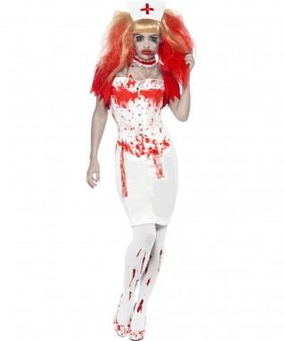 Horrorschwester - Rock+Korsett+Zubehör - Kostüm - 5 Teile - Smiffy's