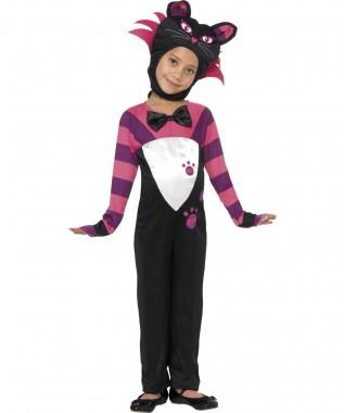 Süße Katze - Overal+Kopfbedeckung - Kinder Kostüm - 2 Teile - Smiffy's