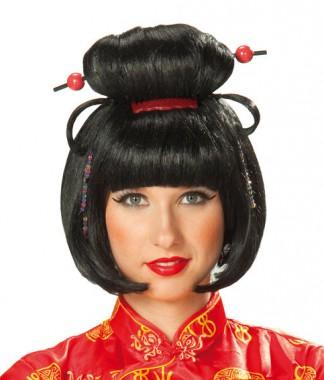 Geisha - Perücke - Perücken - 1 Teil Rubie's