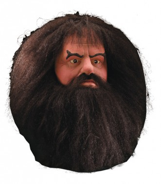 Harry Potter - Hagrid - Latex Maske - Maske - 1 Teil - Rubie's