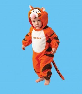 Tigger Classic - Overall -  Kinder Kostüm - 1 Teil - Rubie's
