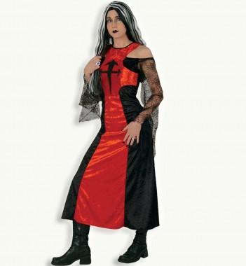 Dämonia - Kleid - Kostüm - 1 Teil - Fries