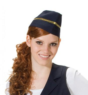 Stewardess Schiffchen - Zubehör - 1 Teil - Rubie's