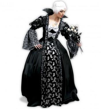 Dunkle Prinzessin - Kleid - Kostüm - 1 Teil - Fries