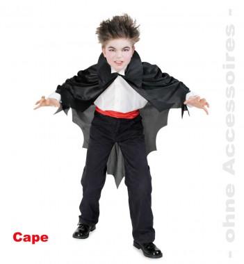 Fledermaus Cape - Cape - Kinder Kostüm - 1 Teil - Fries