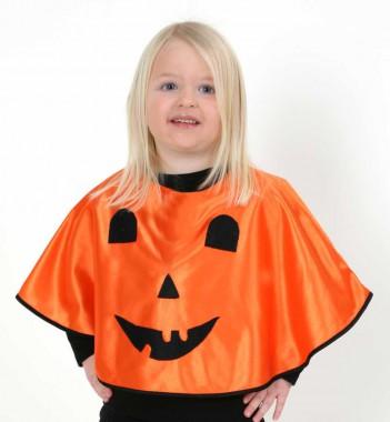 Kuerbiscape - Cape - Kinder Kostüm - 1 Teil - Fries