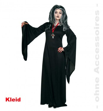 Mortina - Kleid - Kostüm - 1 Teil - Fries
