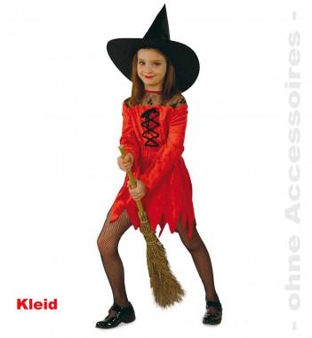 Satansbraten - Kleid - Kinder Kostüm - 1 Teil - Fries