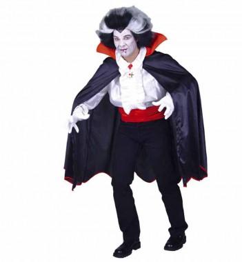 Vampirumhang - Umhang  - Kostüm - 1 Teil - Fries