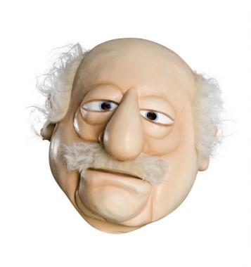 The Muppets - Waldorf - Deluxe Maske - Maske - 1 Teil - Rubie's