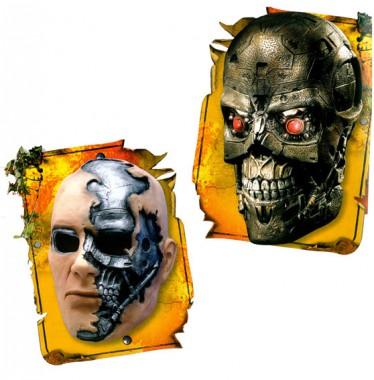 Terminator - T600 - Vinyl Maske - Maske - 1 Teil - Rubie's