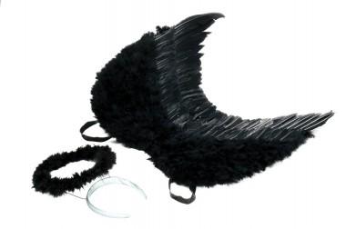 Engel-Set - Flügel+Haarreif - Zubehör - 2 Teile - Rubie's