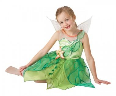Disney Tinkerbell - Kleid - Kinder Kostüm - 3 Teile - Rubie's