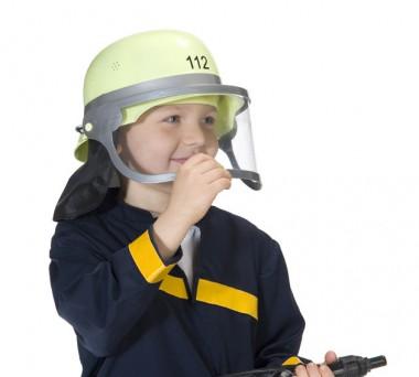 Feuerwehrhelm - Zubehör - 1 Teil - Rubie's