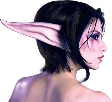 Word Warcraft – Nachtelf - Ohren Kit - Maske - 1 Teil - Rubie's