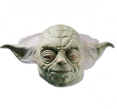 Star Wars - Yoda - Latex Maske - Maske - 1 Teil - Rubie's