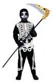 Skelett - Overall mit Kopfbedeckung - Kinder Kostüm - 2 Teile - Rubie's
