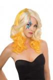 Lady Gaga - Perücke Blond-Gelb - Perücke - 1 Teil - Rubie's