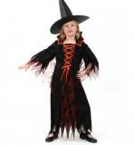 Grusella - Kleid - Kinder Kostüm - 1 Teil - Fries