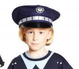 Polizeimütze - blau - Zubehör - 1 Teil - Rubie's