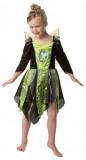 Disney - Süßes oder Saures Tinkerbell - Kleid+Flügel - Kinder Kostüm - 2 Teile - Rubie's